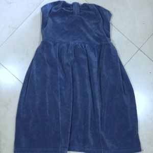 Juicy Couture Terry Cloth Strapless Dress